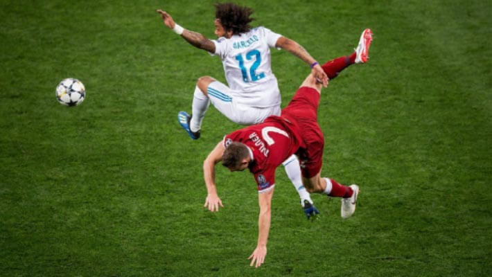 Marcelo Vieira Real Madrid vs Liveprool UEFA Champions League Final 2019 Kyiv